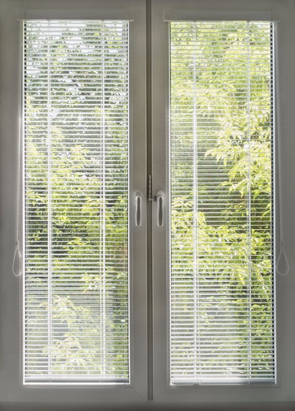 windows with built in blinds uk