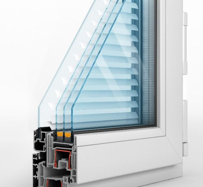 Manual Integrated Blinds Best Price Glazing Services London