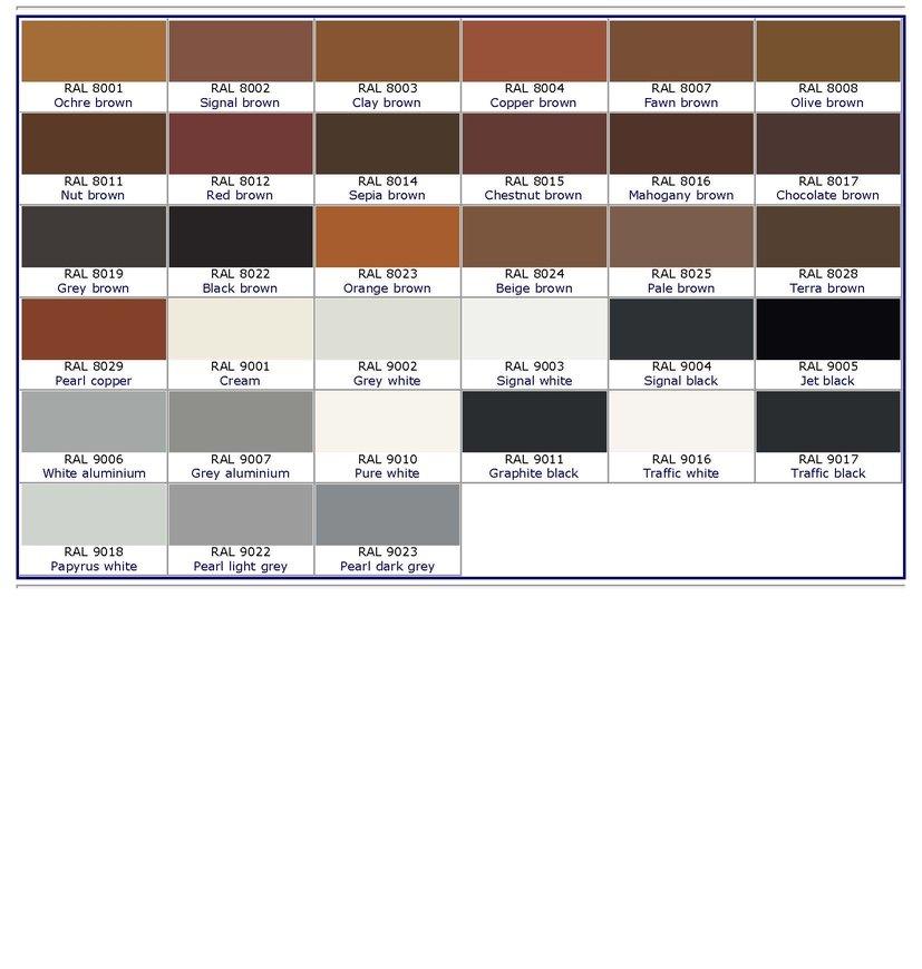 F H Paint Colors